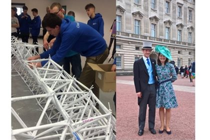 STEM Ambassador breaks World Record and is invited to Buckingham Palace