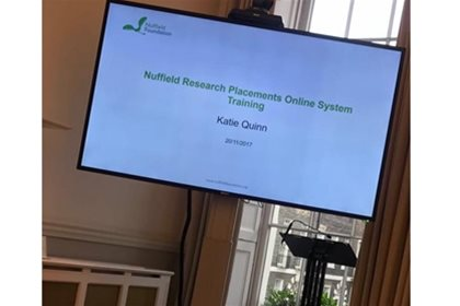 Nuffield Co-ordinators Meeting