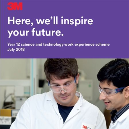 3M Work Experience Opportunity- Summer 2018