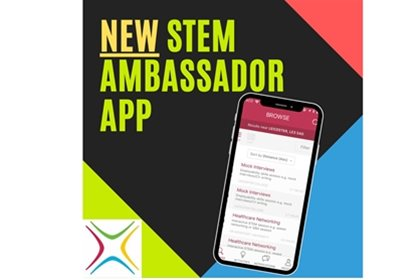 The new STEM Ambassador app is now out!